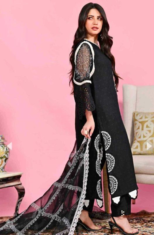Neelam Muneer Is a Vision In Black Desi Attire