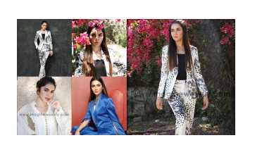 Latest Photoshoot of Syeda Tuba Amir For the Mag Weekly
