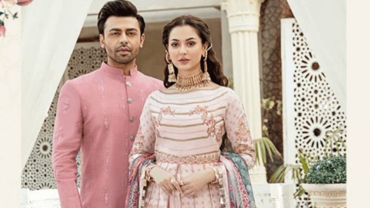 Dimple Queen Hania Aamir and Farhan Saeed Pair Up