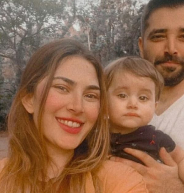 Recently, mother Naimal Khawar Khan shared some beautiful photos of her son Mustafa Abbasi with his father Hamza Ali Abbasi. She called 'My World' Fans love the new photo of adorable baby Mustafa Abbasi. This is the picture.