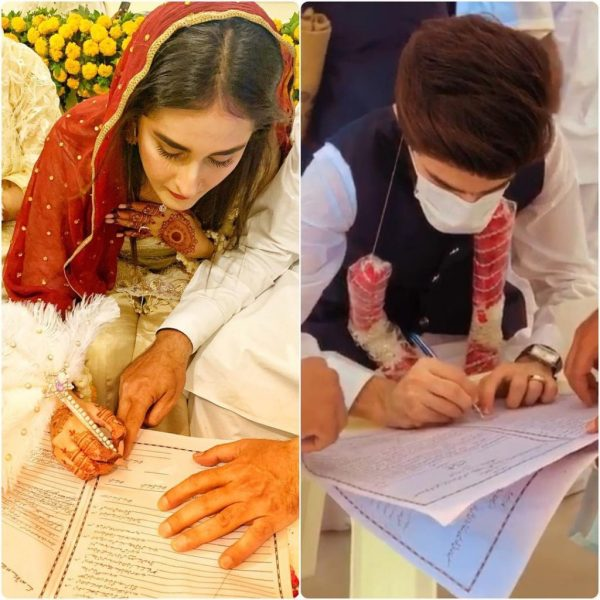 Shehzeen Rahat from Khaani Ties the Knot