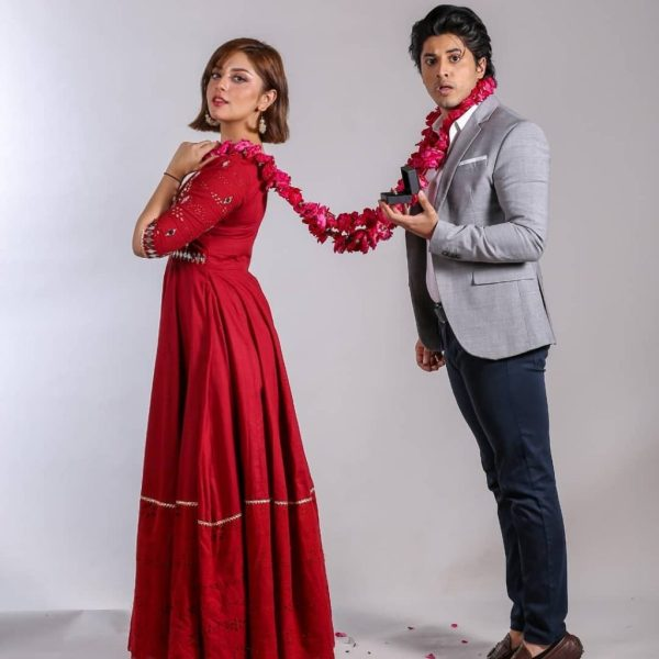 Alizeh and Danyal Look Adorable In a Shoot for Tana Bana