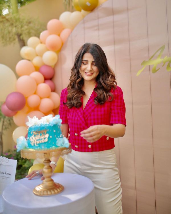 Beautiful Areeba Habib Celebrates Her Birthday