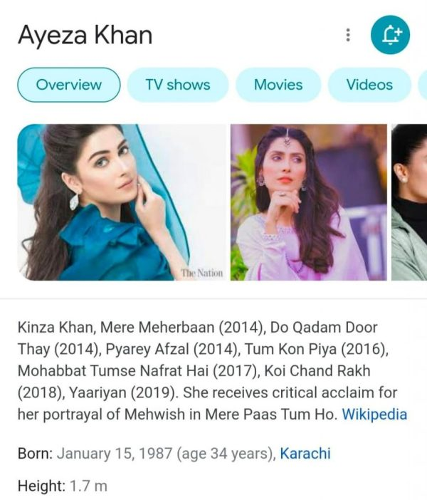 Netizens Believe Ayeza Khan Is Hiding Her Actual Age