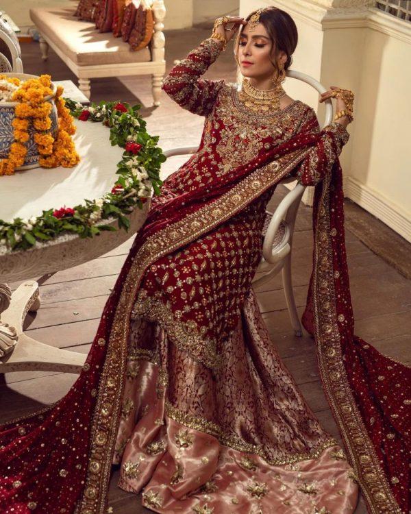 Ayeza Khan looks gorgeous On Annus Abrar Eid Collection
