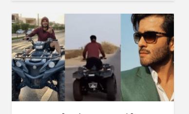 Feroze Khan Recent Video Stirred Overdose Of Public Criticism
