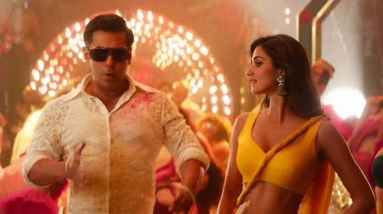 Salman Khan kisses in a movie for first time