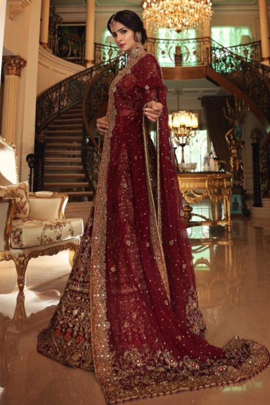 Saba Qamar Looks Ethereal In Traditional Bridal Wear