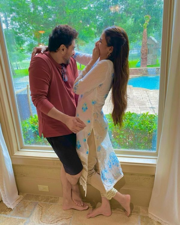 Hira mani Beautiful pictures in Texas Vacationing