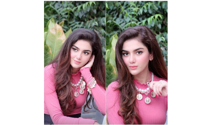 Syeda Tuba Aamir Looking Dreamy In Pink Outfit