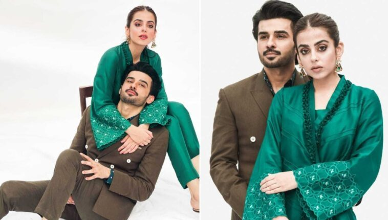 Yashma and Fahad Sheikh Look Absolute Stunners