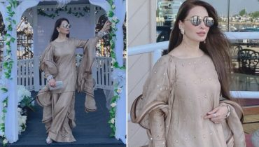Reema Khan Absolutely Beautiful In Gucci Color Suit
