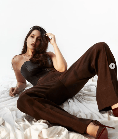 Nora Fatehi Shakes the internet with self assured