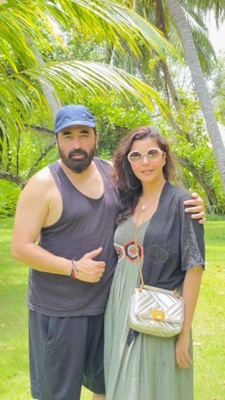 Nida Yasir And Yasir Nawaz Spend Vacations In Maldives
