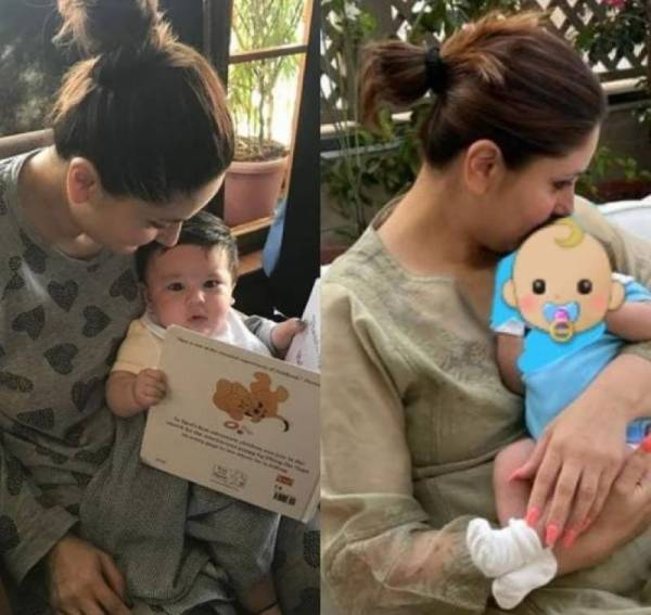 Kareena Kapoor looks epitome of contentment with Taimur & Jeh