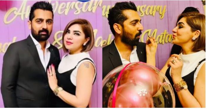 Natasha Ali Celebrates Her First Wedding Anniversary