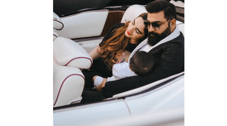 Style Icon Ali Xeeshan With His Wife and Little One