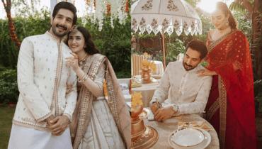 Sana Javed and Bilal Ashraf Narrate a Romantic Tale