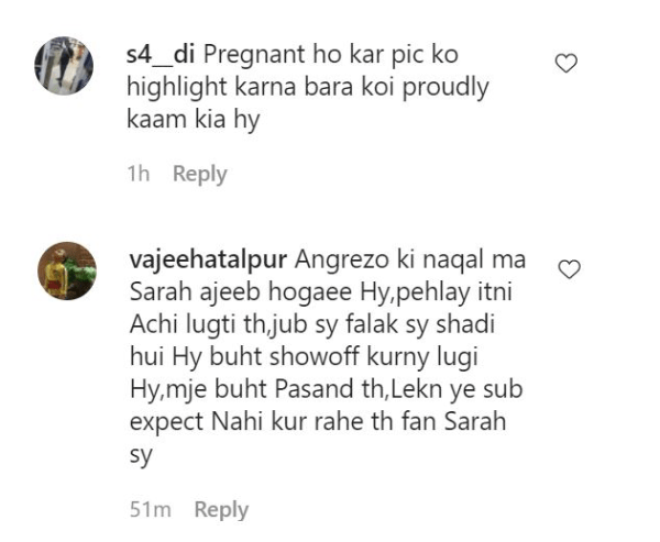 Sarah Khan Face Severe Criticism on Flaunting Her Baby Bump
