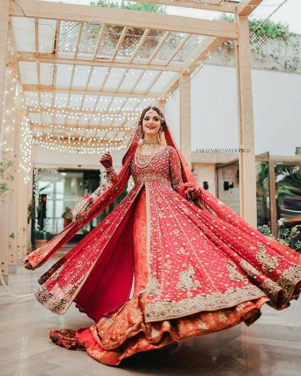 Glimpse from Minal Khan-Ahsan Mohsin Ikram glorious wedding