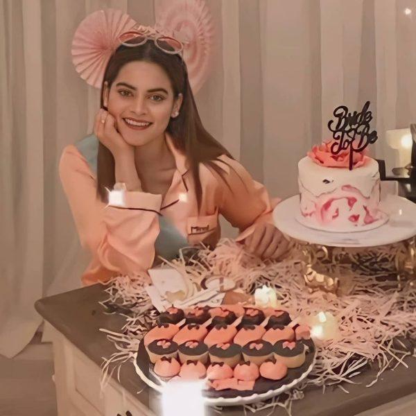 Bride To Be Minal Khan Celebrates Her Bridal Shower