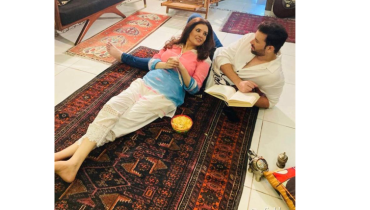 Resham And Abdullah Ejaz Spend Quality Time With Each other
