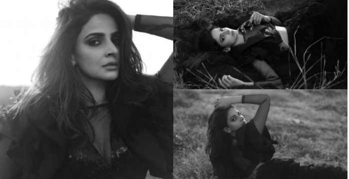 Saba Qamar again sparked controversy with recent Bold Shoot