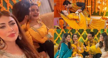 Public Reaction Ahsan Mohsin Ikram Kisses Minal Khan