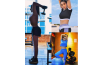 Sana Fakhar Workout at Gym As A Fitness Coach