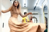 Mashal Khan thinking averts wardrobe disaster during Dance