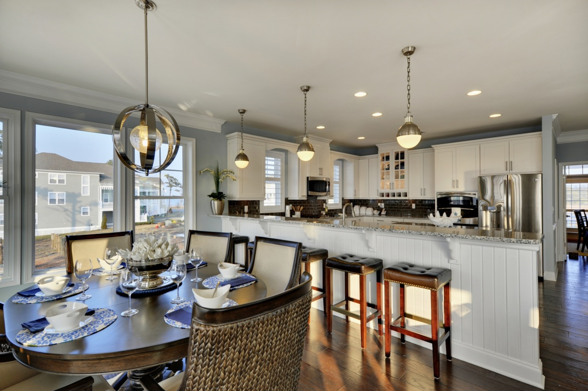 pewter kitchen faucet buy undermount sink the catalina at ellis point - kitchens idea gallery