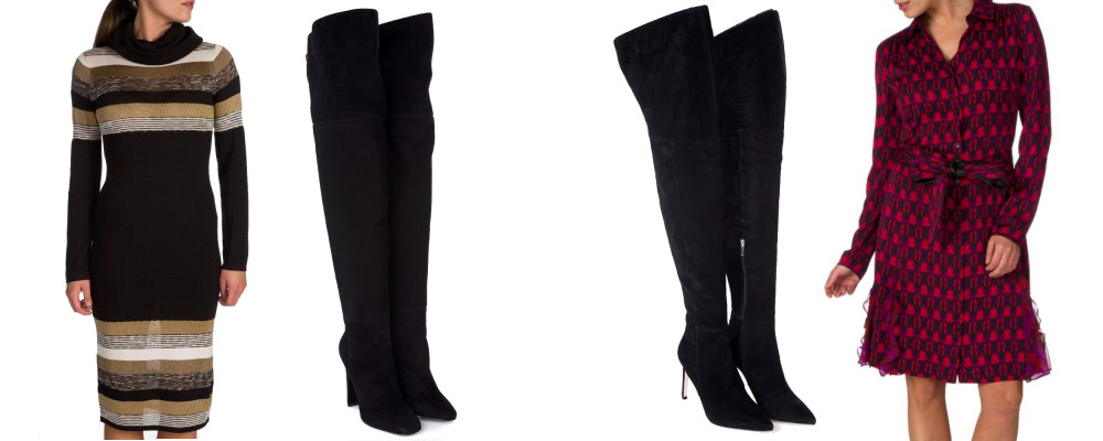 Winter workwear knee boots