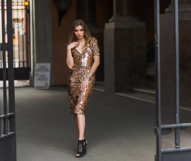 How To Dress For A New Years Eve Party By Admin  Fashion  Woman In A Sequin Dress