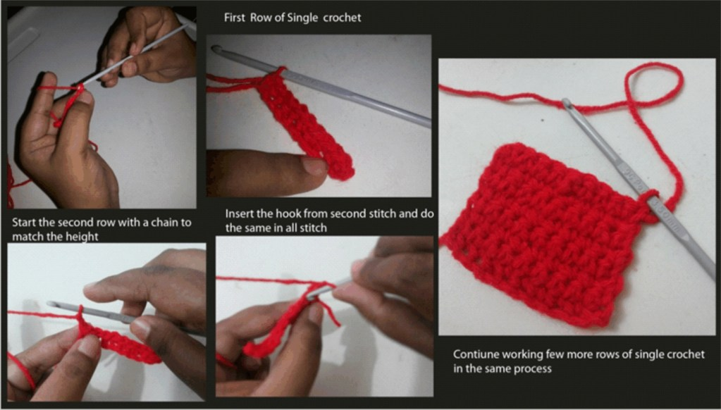 crochet work from home