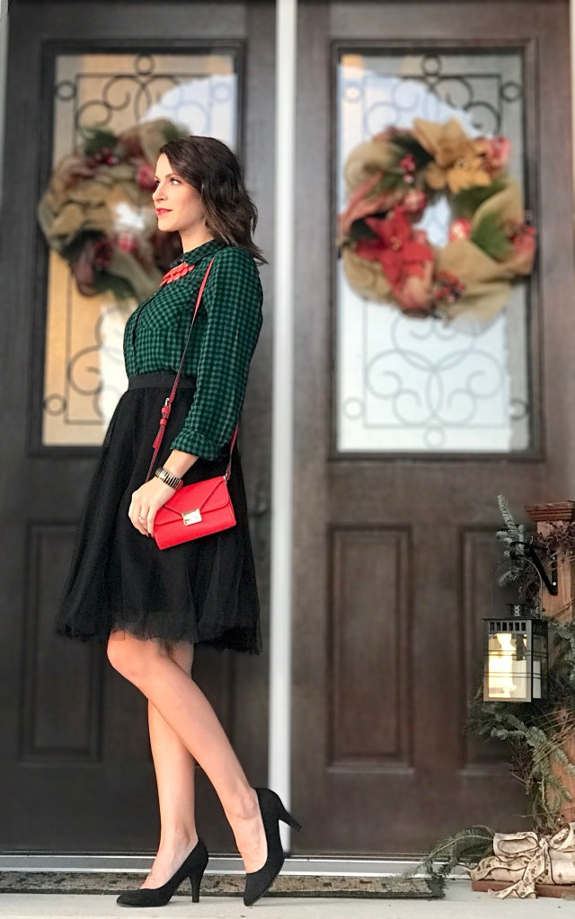 Tulle and Gingham – Great for the Holidays
