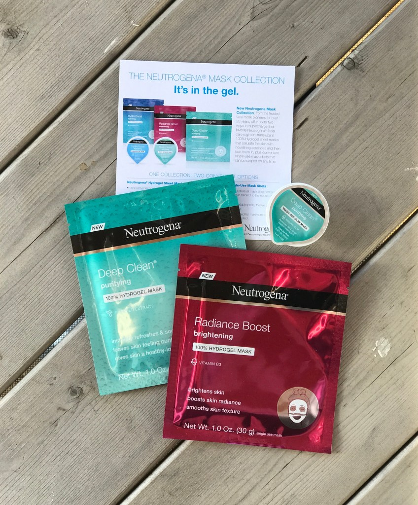 Rest and Relax with Neutrogena Mask Collection Gel Masks