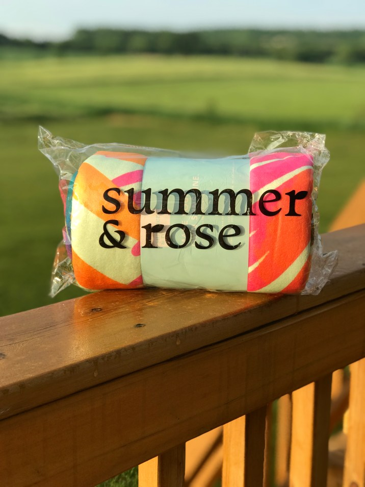 Summer & Rose Towel
