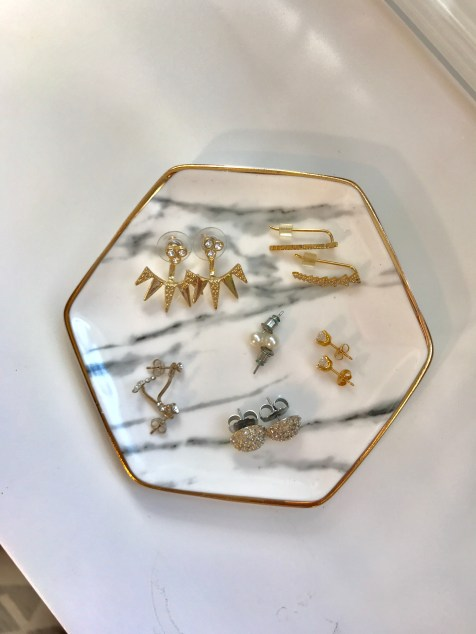 Marble Earring Dish
