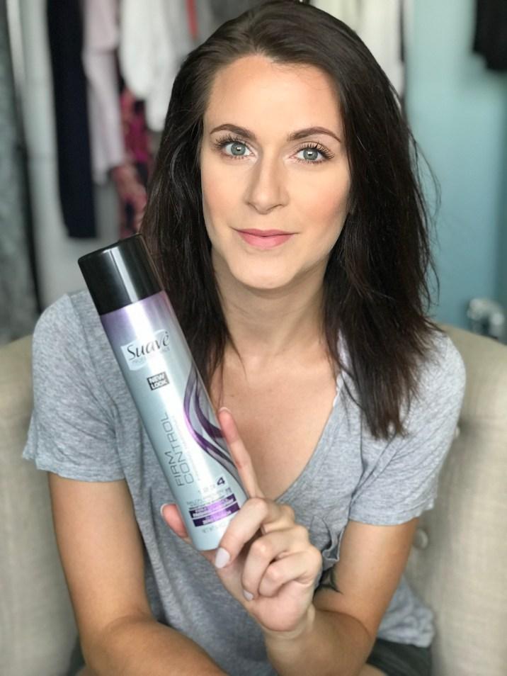 Suave Hairspray 2
