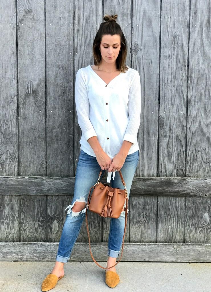 Fall Fashion //Bucket Bags
