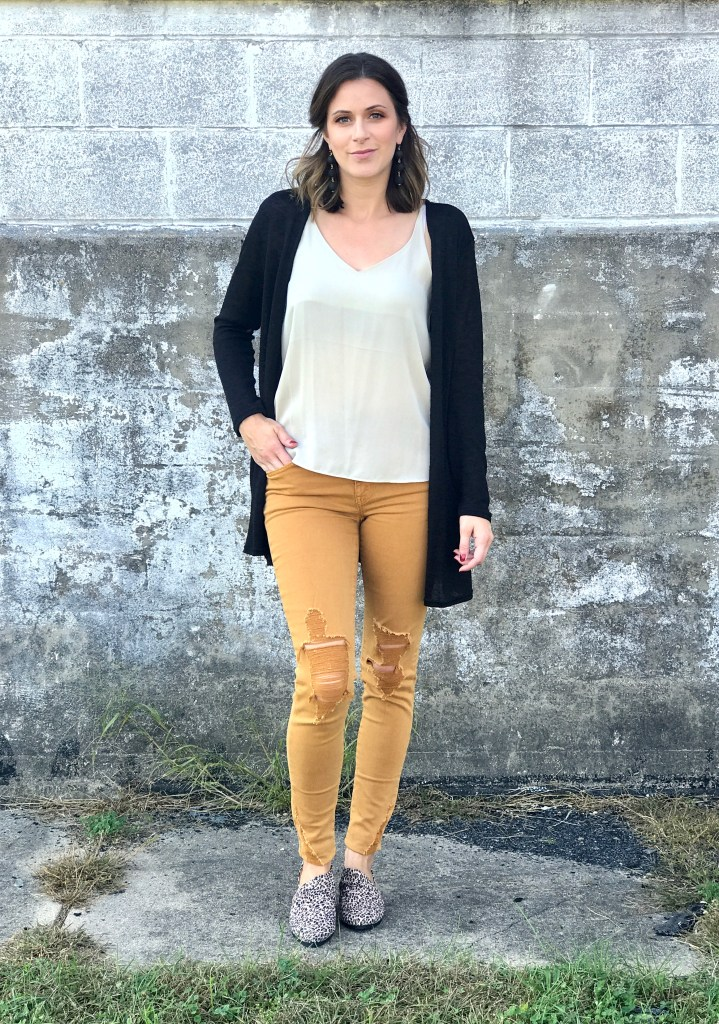 HOW TO: Style Mustard Colored Jeans