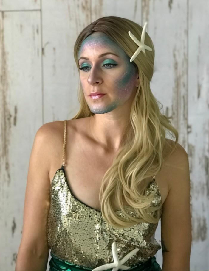 Mermaid makeup 1