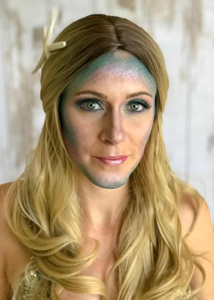 Mermaid Makeup 4