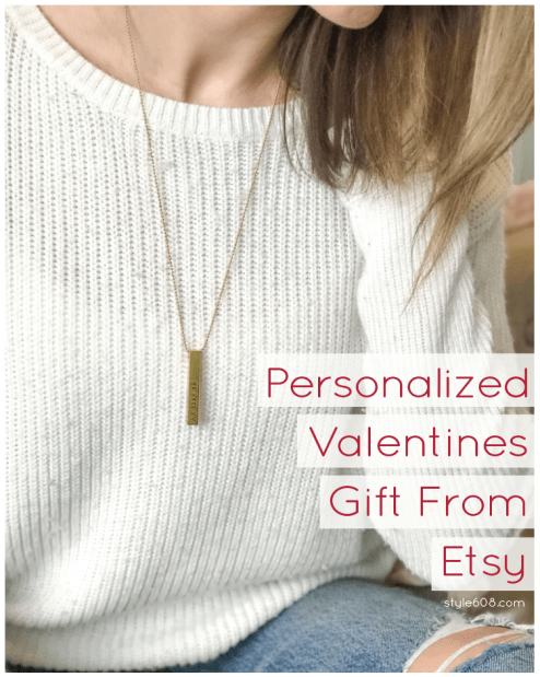 Personalized Vday gift from etsy