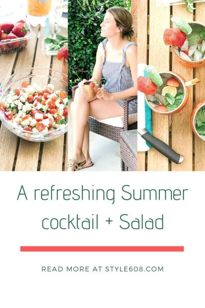 A refreshing Summer cocktail + Salad.jpg