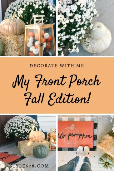 decorate with me front porch