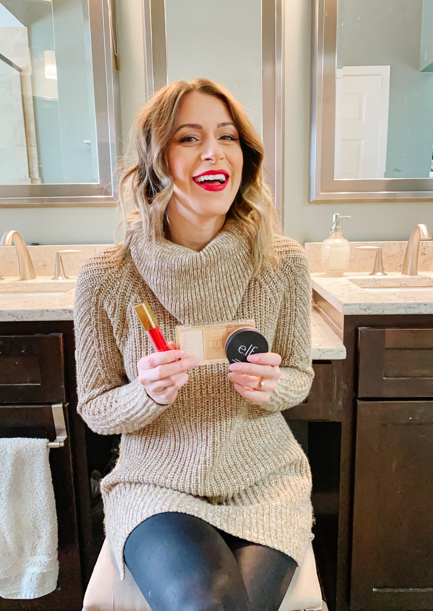 Winter Makeup Routine