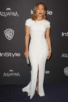 In Roland Mouret at the InStyle And Warner Bros. 73rd Annual Golden Globe Awards Post-Party
