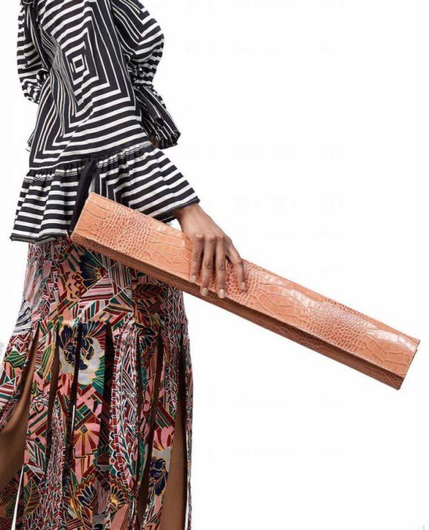Mburu Clutch Bag by Sarah Diouf. Photo: Sarah Diouf / Instgram.