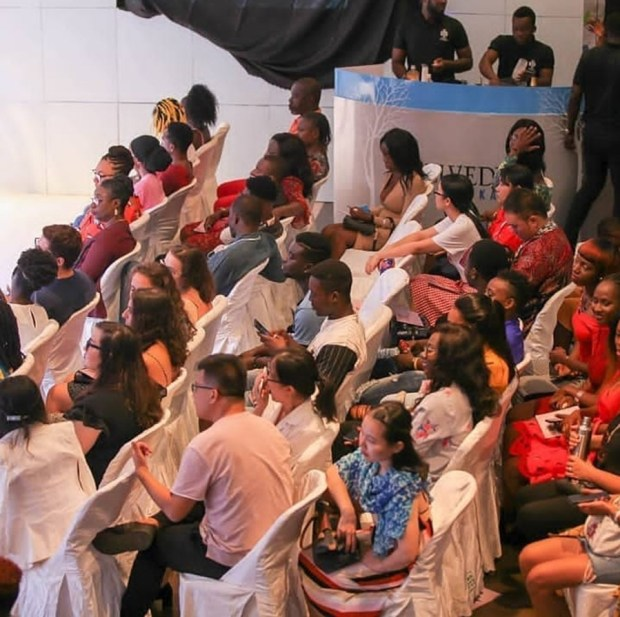 Patrons and Fashion lovers @ Accra Fashion Week 2018/Summer-Harmattan Edition